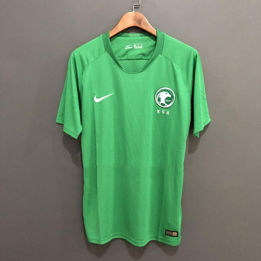 low priced fdcd9 56e10 Saudi Arabia Away 2018 World Cup Jersey
