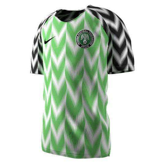 huge discount d70c7 a7699 Nigeria Home 2018 World Cup Jersey