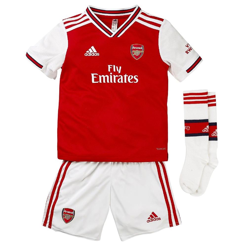 Arsenal 2019 20 Home Kids Kit Amojerseys