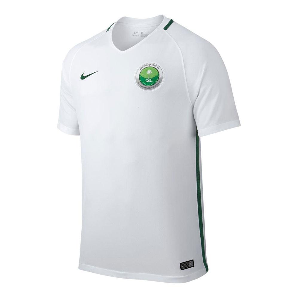 in stock 05ea7 abeb0 Saudi Arabia Home 2018 World Cup Jersey