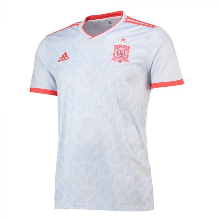 new york 6661d c33f7 Spain Away 2018 World Cup Jersey